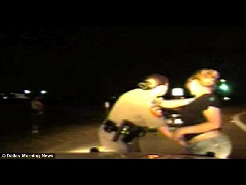 shocking - Two Texas women are suing after state troopers subjected them to a humiliating and invasive 'roadside body cavity search' that was caught on video. Female tr...