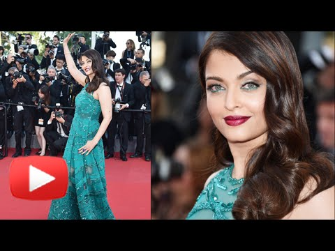 VIDEO Aishwarya Rai Red Carpet Walk