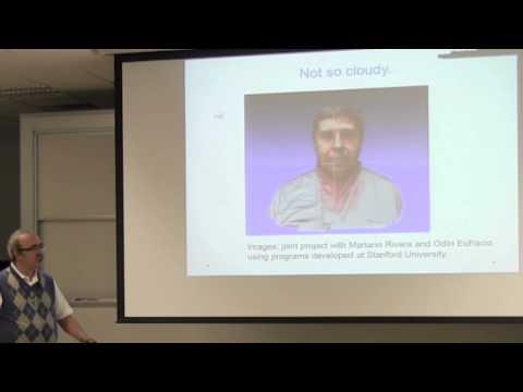 """Conferencia """"TDA Persistent homology"""", Dr  José Antonio de la Peña"""