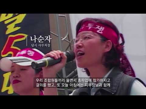 Korean Health and medical workers' union 20years history