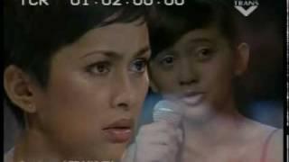 TIme to Say Goodbye - Putri Ayu (Indonesia Mencari Bakat Show).flv
