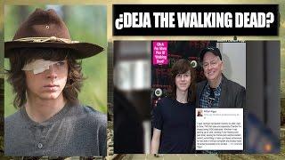 ¿CHANDLER RIGGS (CARL) DEJARÁ THE WALKING DEAD?