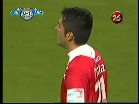 Unión 0 Argentinos 1, gol de Salcedo