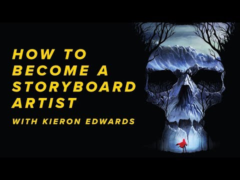 How To Become A Storyboard Artist With Kieron Edwards