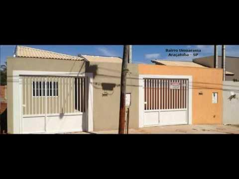 Casas a venda em Araçatuba - Bairros Sao Jose e Umuarama - BZ CASAS