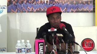Yohan Blake Full Media Press Conference In Kingston