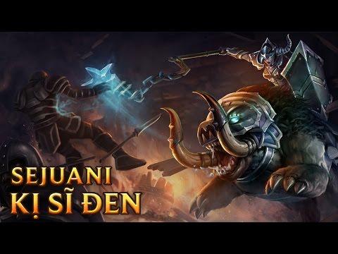 Sejuani Kỵ Sĩ Đen - Darkrider Sejuani