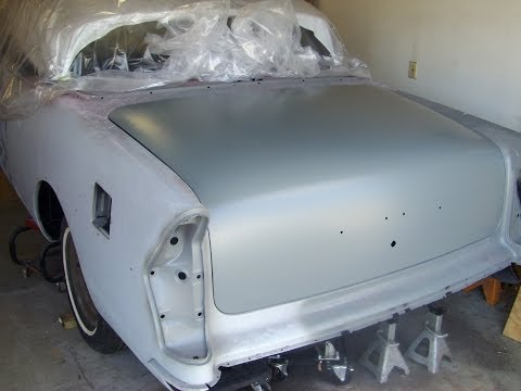 1955 Buick Trunk lid Install