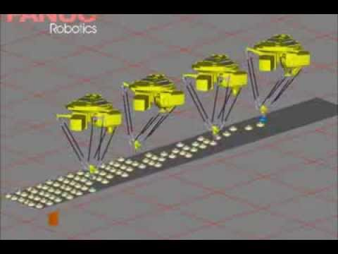 FANUC Robotic Scoring Simulation with Ultrasonic Scoring head x 264