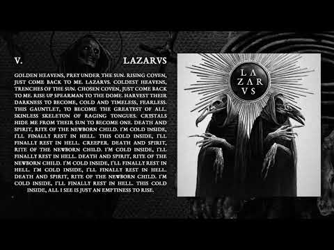 LAZARVS - LAZARVS (Official Audio)