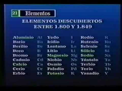 Vídeos Educativos.,Vídeos:Los elementos