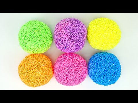 Игрушки и сюрпризы из шарикового пластилина - DomaVideo.Ru