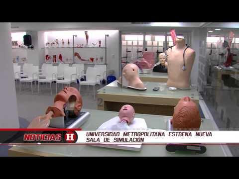 Universidad Metropolitana estrenó sala de simulación médica para estudiantes