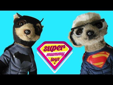 Compare The Meerkat Batman v Superman Soft Toys Review