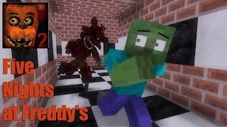 Video Monster School : Five Nights at Freddy's(FNAF) - Minecraft Animation MP3, 3GP, MP4, WEBM, AVI, FLV Juni 2018