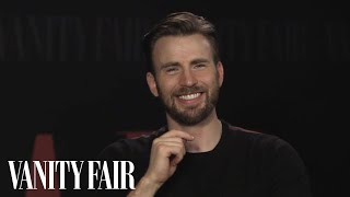 Chris Evans Is a Hopeless Romantic Who May Perspire If You Approach Him   Vanity Fair