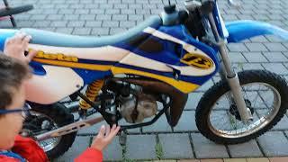 4. Ecco la mia moto da cross
