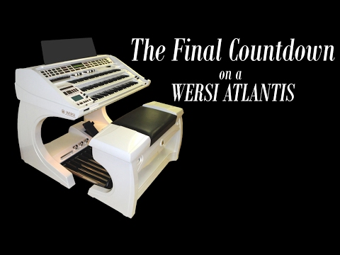 Final Countdown on a Wersi Atlantis