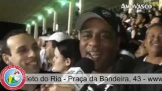 """Campeonato Brasileiro 2011 - Vasco 2x0 Santos - 14a Rodada (03/08/2011) - São Januário Você vai conferir no quadro """"Giro..."""