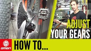 1. How To Adjust + Index Your Gears – Mountain Bike Maintenance Tips