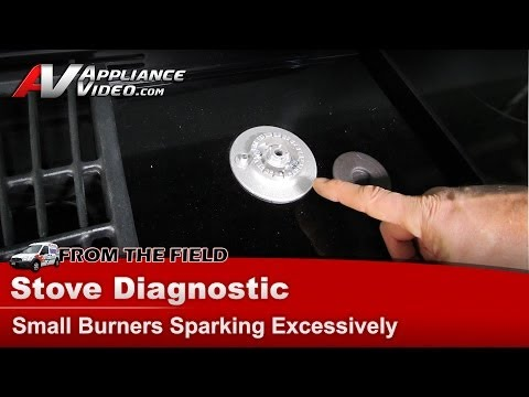 Gas cooktop Burner Assembly Excessively Sparking & Clicking noise Whirlpool, Maytag, KitchenAid