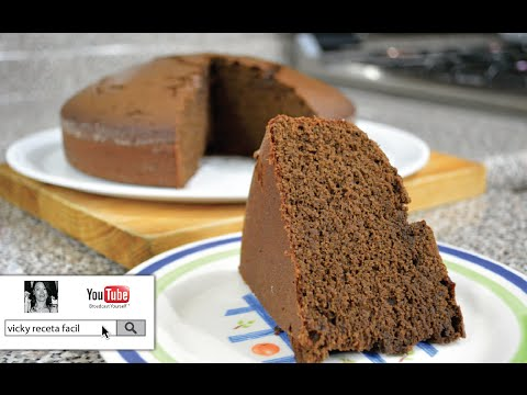PAN DE CHOCOLATE | Vicky Receta Facil
