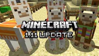 Minecraft: LLAMAS, CURSES, AND MORE - 1.11 Exploration Update