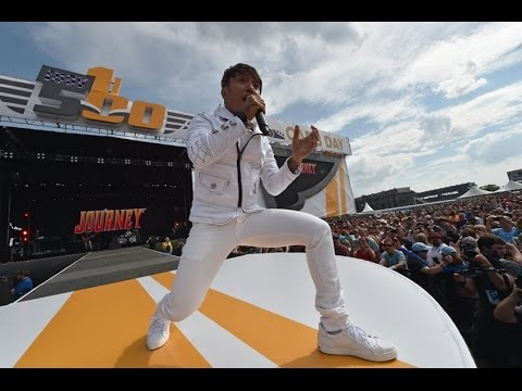 "Journey ""Open Arms"" LIVE CONCERT HD At INDY 500 Carb Day 2016 100th RUNNING HD Sound Quality"