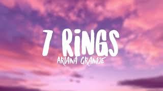 Ariana Grande - 7 Rings (Clean - Lyrics)