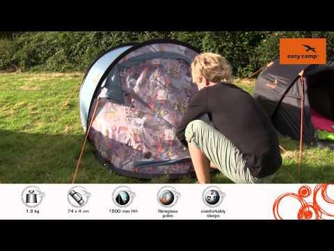 Відеоогляд саморозкладної палатки Easy Camp Antic Cocktail