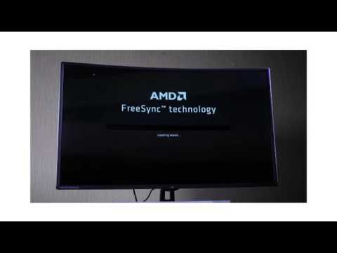 New QNIX UHD4020R 40 Inch Curved 4K AMD FreeSync LED Monitor Overview