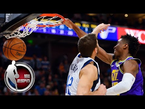 Video: Donovan Mitchell, Utah Jazz put on dunk show vs. Dallas Mavericks | NBA on ESPN