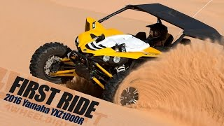 9. 2016 Yamaha YXZ1000R First Ride - 4WheelDirt