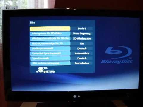 Panasonic DMP-BDT100 Eindrücke
