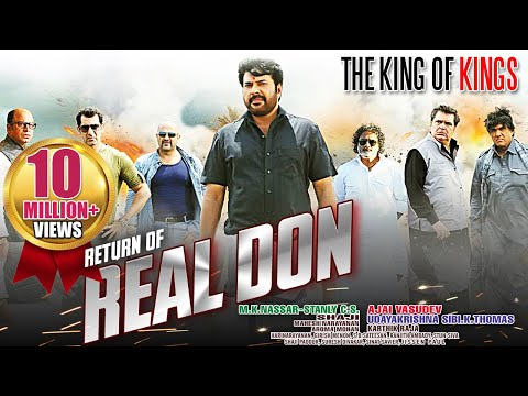 The Real Don Return - Mammootty   Dubbed Hindi Movies 2015 Full Movie