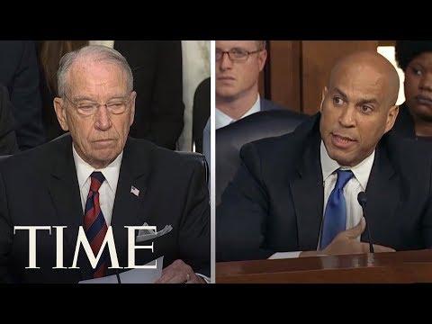 Democrats Demand Postponement Of Supreme Court Nominee Brett Kavanaugh Hearing   TIME