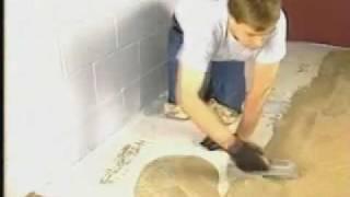 How to apply waterproof epoxy floor over concrete.