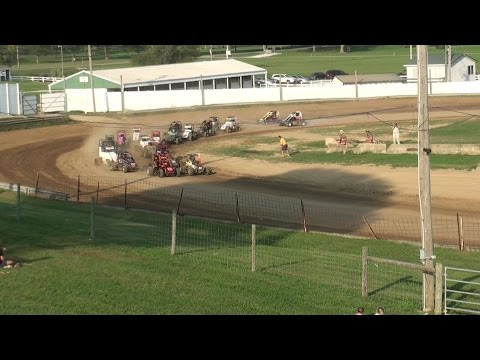 Decatur County Fairgrounds | 9.25.16 | King Of The TQ Midgets | Dwenger Memorial | Feature
