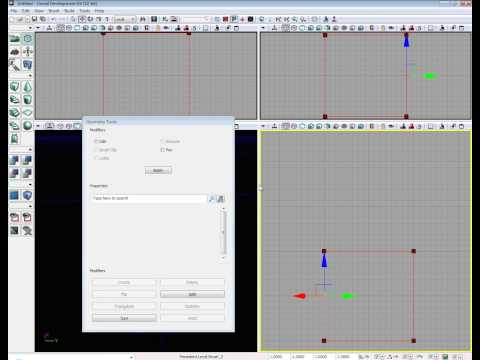 preview-Basics Using Geometry mode in the Unreal Development Kit -UDK Tutorial (raven67854)