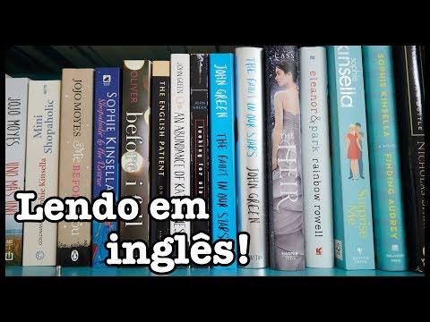 Como ler em inglês? + meus livros estrangeiros
