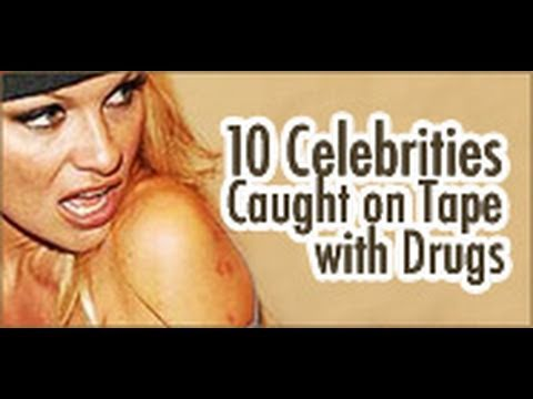 10 Celebrities Tape with Drugs