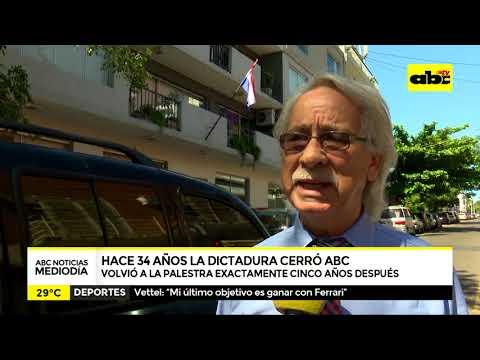 Cinco años de silencio - Hace 34 años la dictadura cerraba ABC COLOR