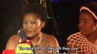 Nolungelo Shongwe shares her cultural story at Indini Miss Cultural South Africa Pageant 2015.