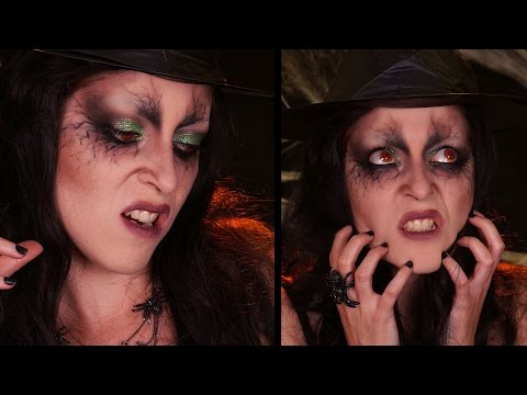 Maquillage Halloween / La Sorcière Maléfique / wicked witch