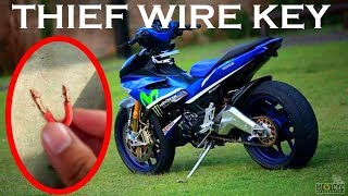 Video THIS SMALL WIRE WILL START YOUR BIKE IN LESS THAN 6 SECONDS !!! MP3, 3GP, MP4, WEBM, AVI, FLV April 2018