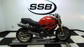 5. 2009 Ducati Monster 1100S Red - used motorcycle for sale - Eden Prairie, MN