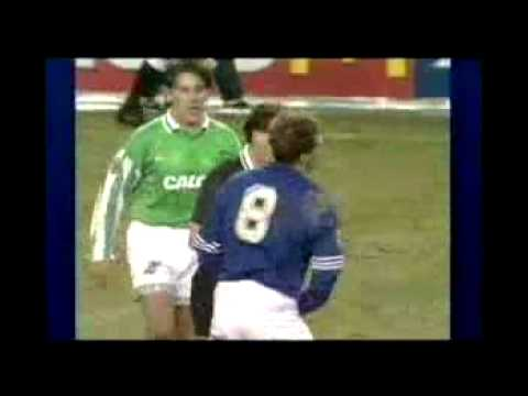 Gazza Cards The Referee