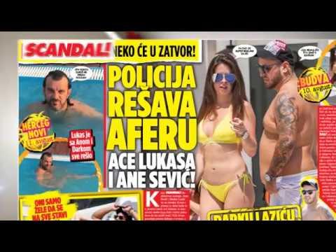 Policija rešava aferu Ace Lukasa i Ane Sević! Darku prete!