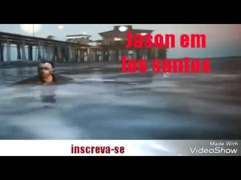 Jason botando terro em Los santos no gta v