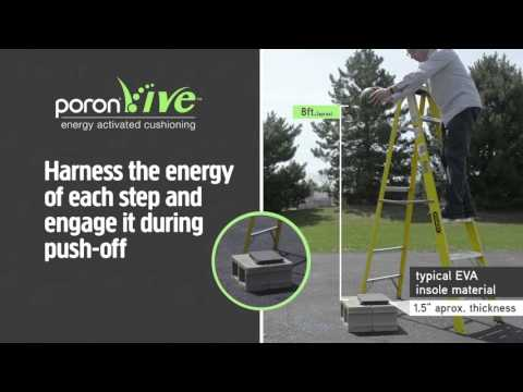 PORON Vive Insole Cushioning Demo: High Resilience and Shock Absorbency in One Material